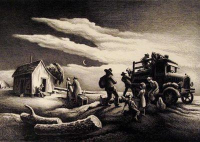 Departure of the Joads