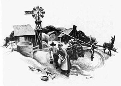 Missouri Farmyard (Kansas Farmyard)