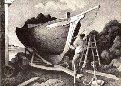 Repairing the Sloop