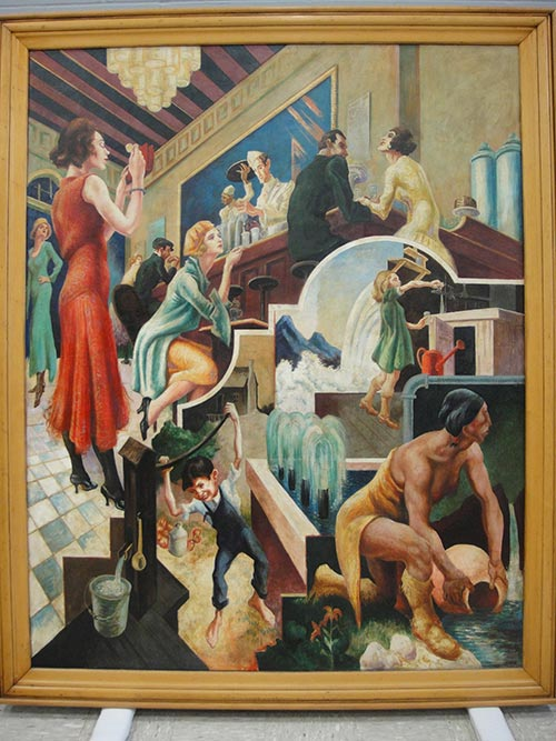 Thomas Hart Benton Artwork